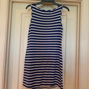 Tart Dresses - Tart blue& white tank dress